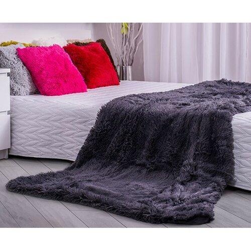Domarex Deka XXL / Prehoz na posteľ Corona sivá, 200 x 220 cm, 220 x 200 cm