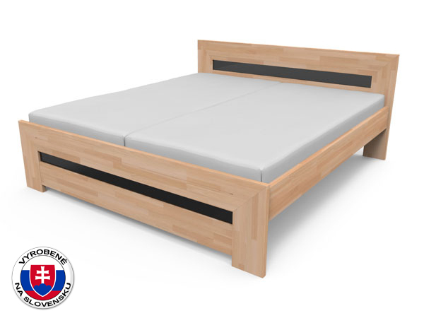 Manželská posteľ 220x180 cm Salma (masív)