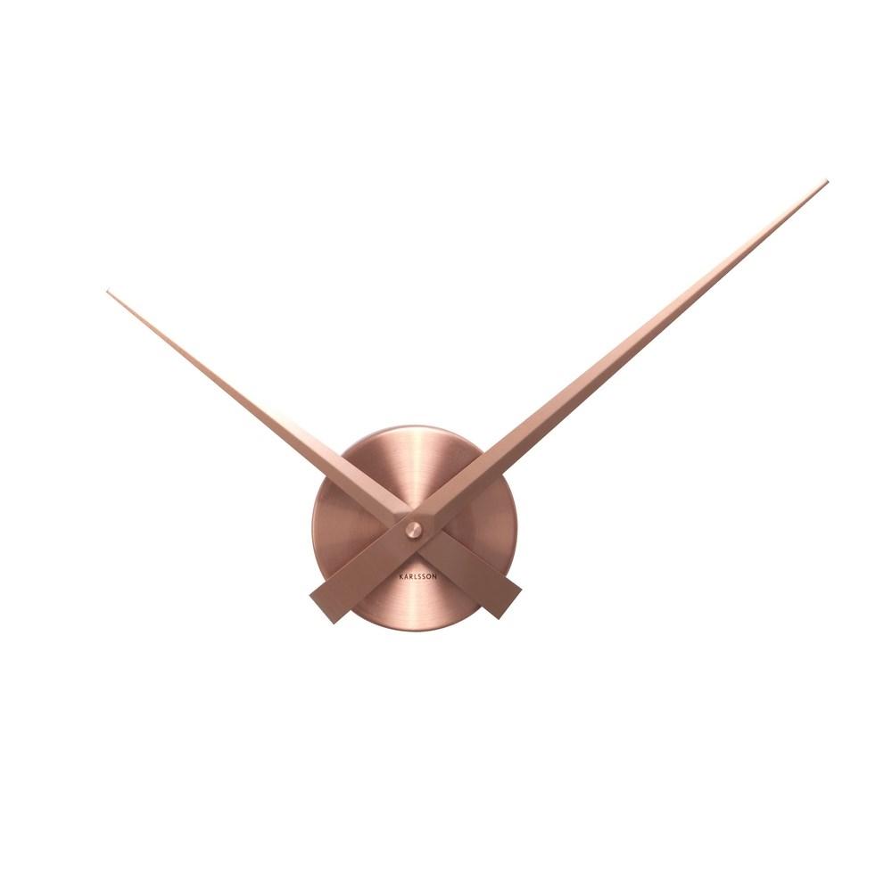 Karlsson 4348CO Designové nástenné hodiny, 44 cm