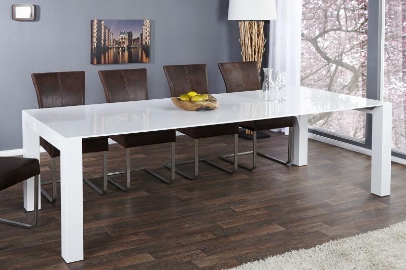 Jedálenský stôl LOTTE biela 180-270cm