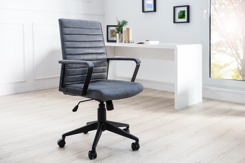 Kancelárska stolička LAVIO - sivá