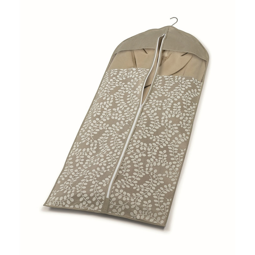 Hnedý vak na oblečenie Cosatto Floral, 137 cm
