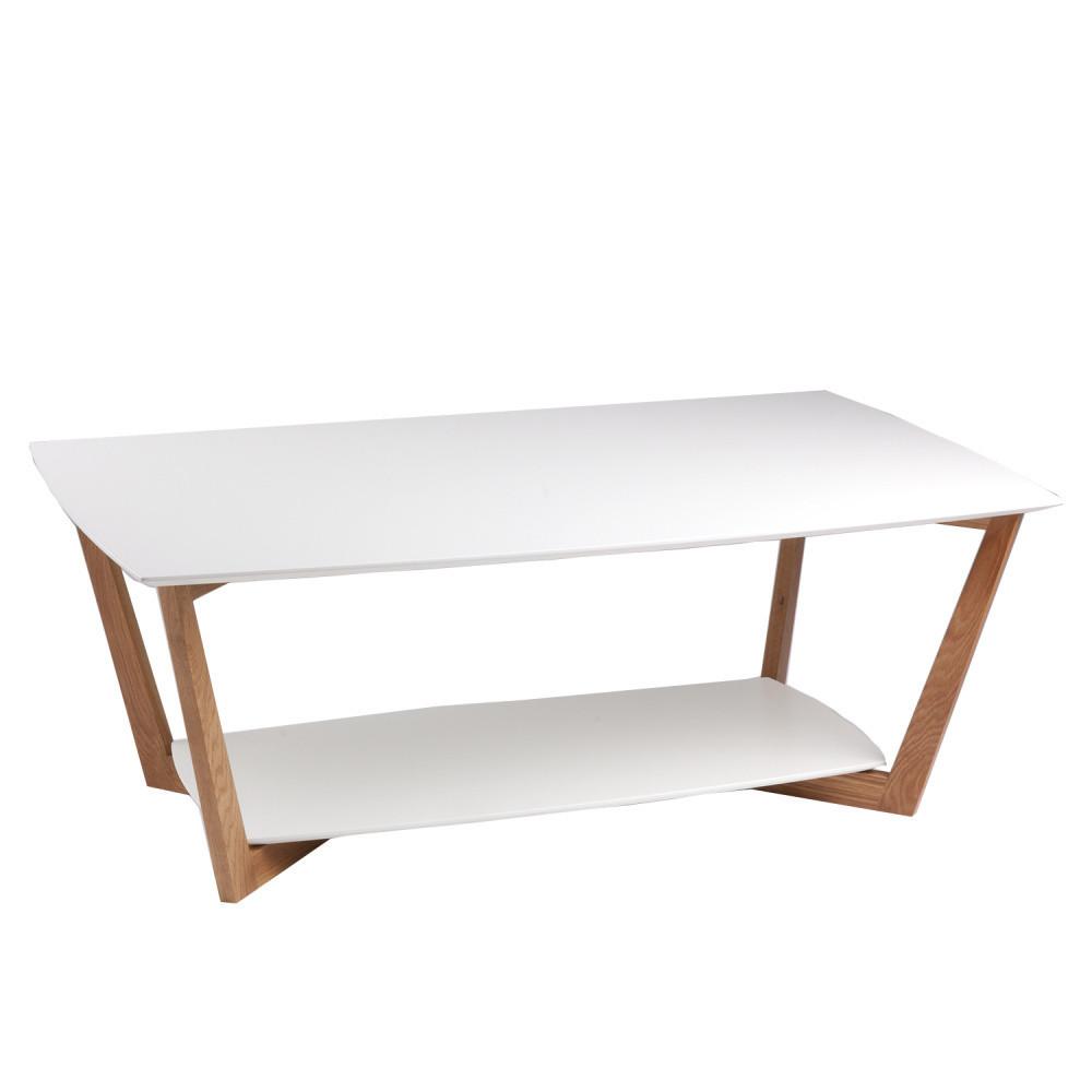 Biely konferenčný stolík sømcasa Steven