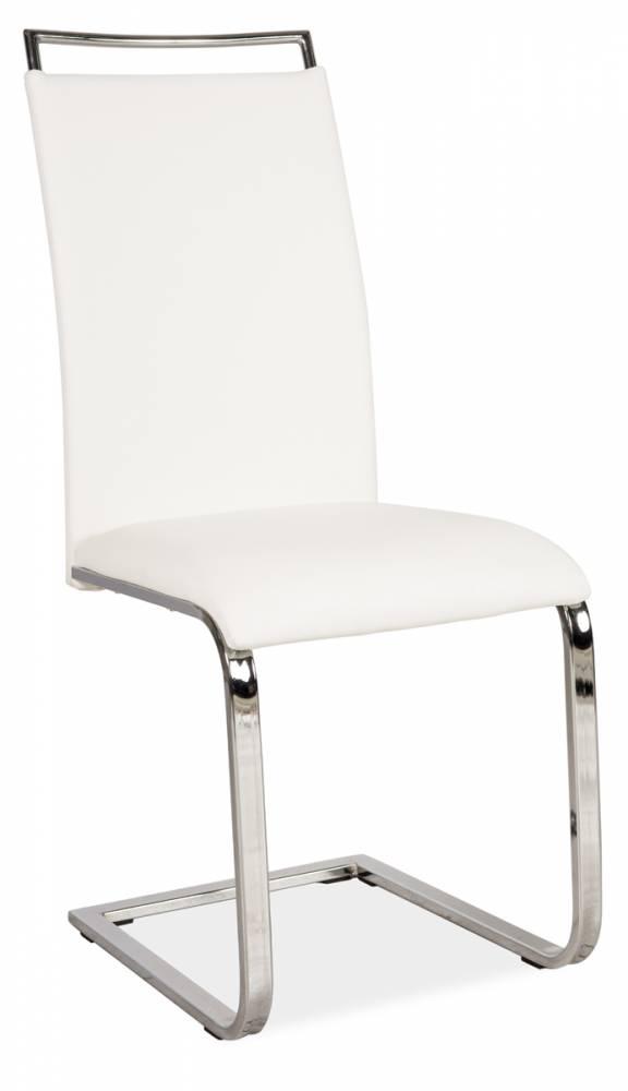 Jedálenská stolička HK-334, biela