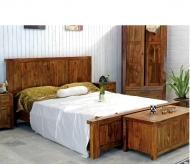 Furniture nábytok  Masívna posteľ z Palisander  Áref I  200x200 cm