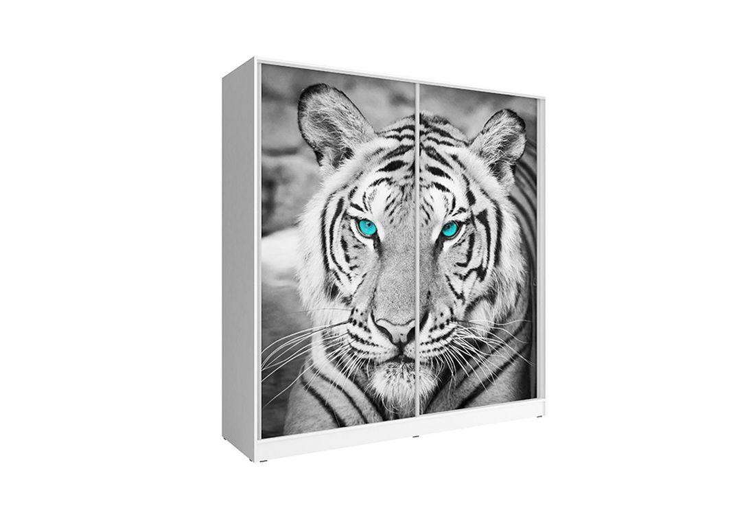 Šatníková skriňa Tygris, 200x214x62 cm