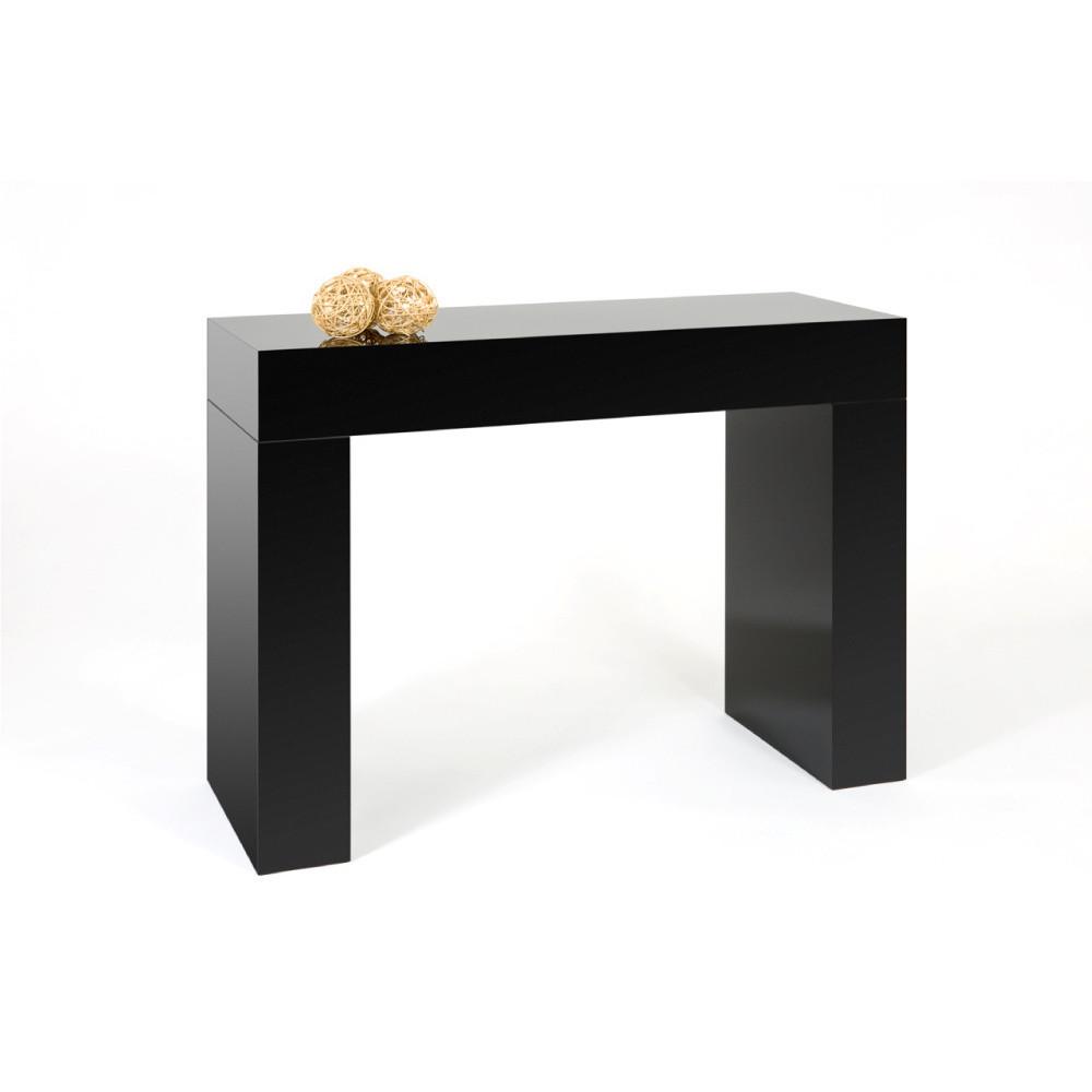 Čierny konzolový stolík MobiliFiver Evolution