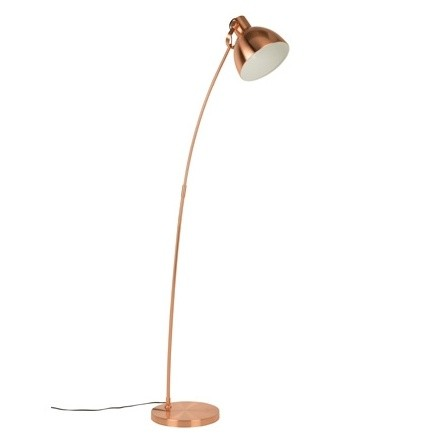 Stojacia lampa Blush, medená