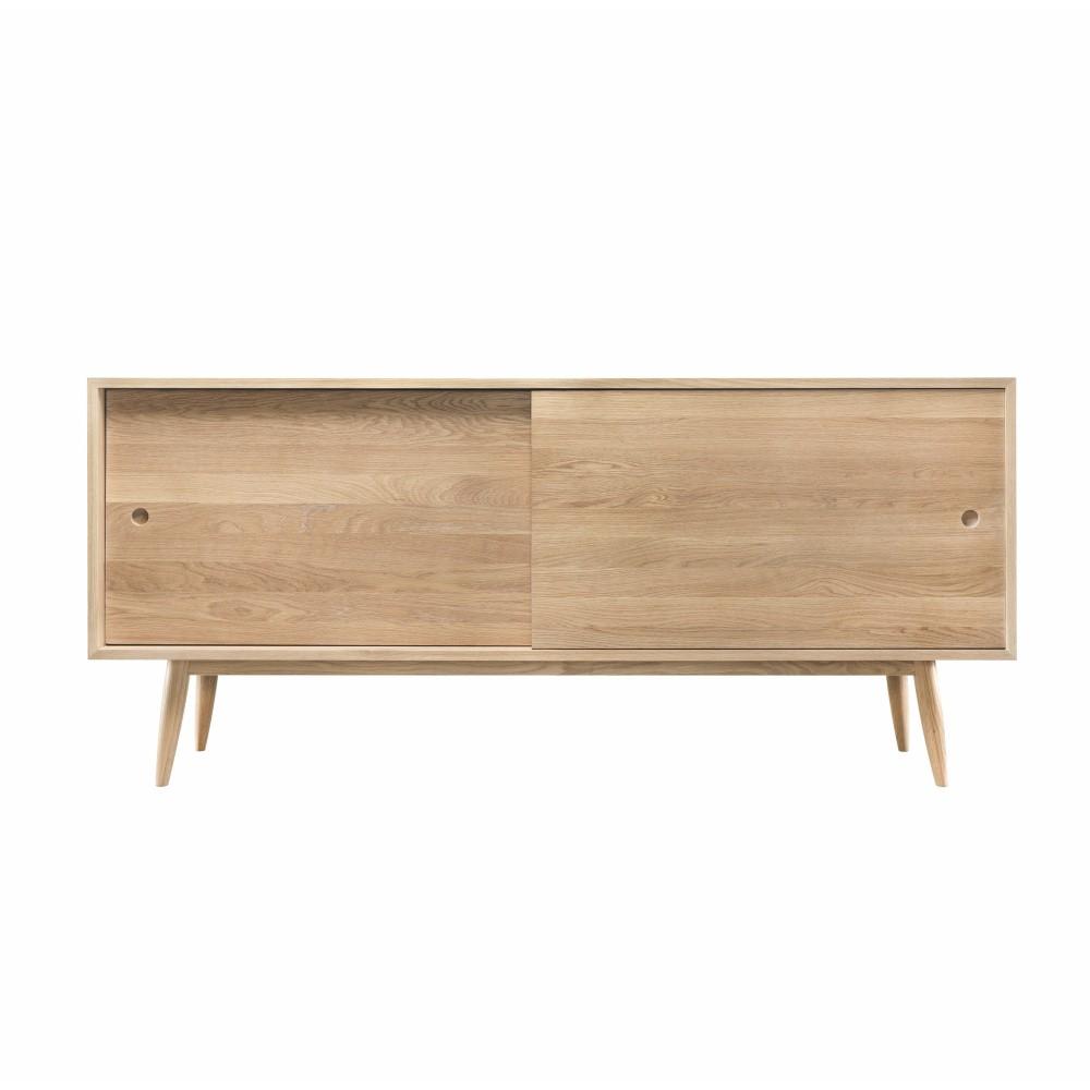 Komoda z dubového dreva s 2 zásuvkami Wewood - Portugues Joinery Oak