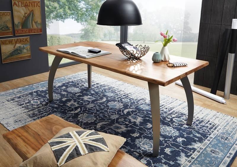 Bighome - PURE NATURE Jedálenský stôl 210x100 cm, akácia