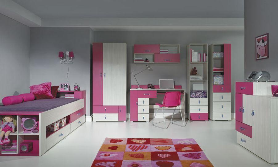 Detská izba Komi C ružová