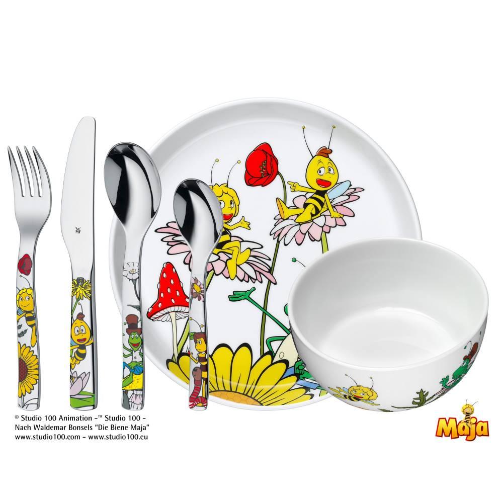 Detský jedálny set Včielka Maja WMF 6 ks