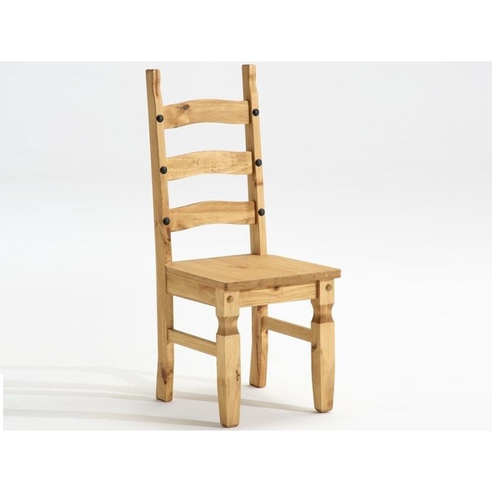 Jedálenská stolička z masívneho borovicového dreva SOB Mexiko