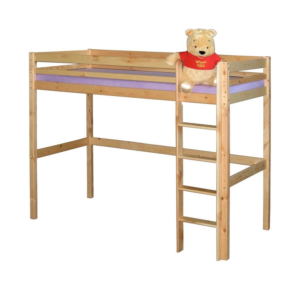Poschodová posteľ IDEA 835 masiv