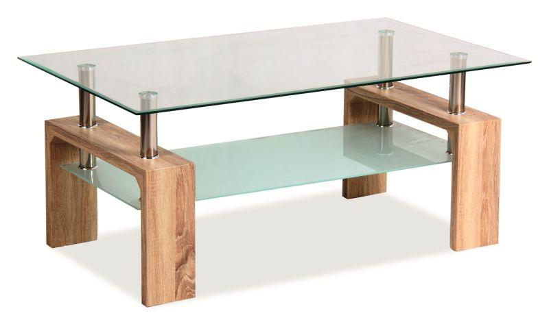 Konferenčný stolík Lisa Basic (dub sonoma)