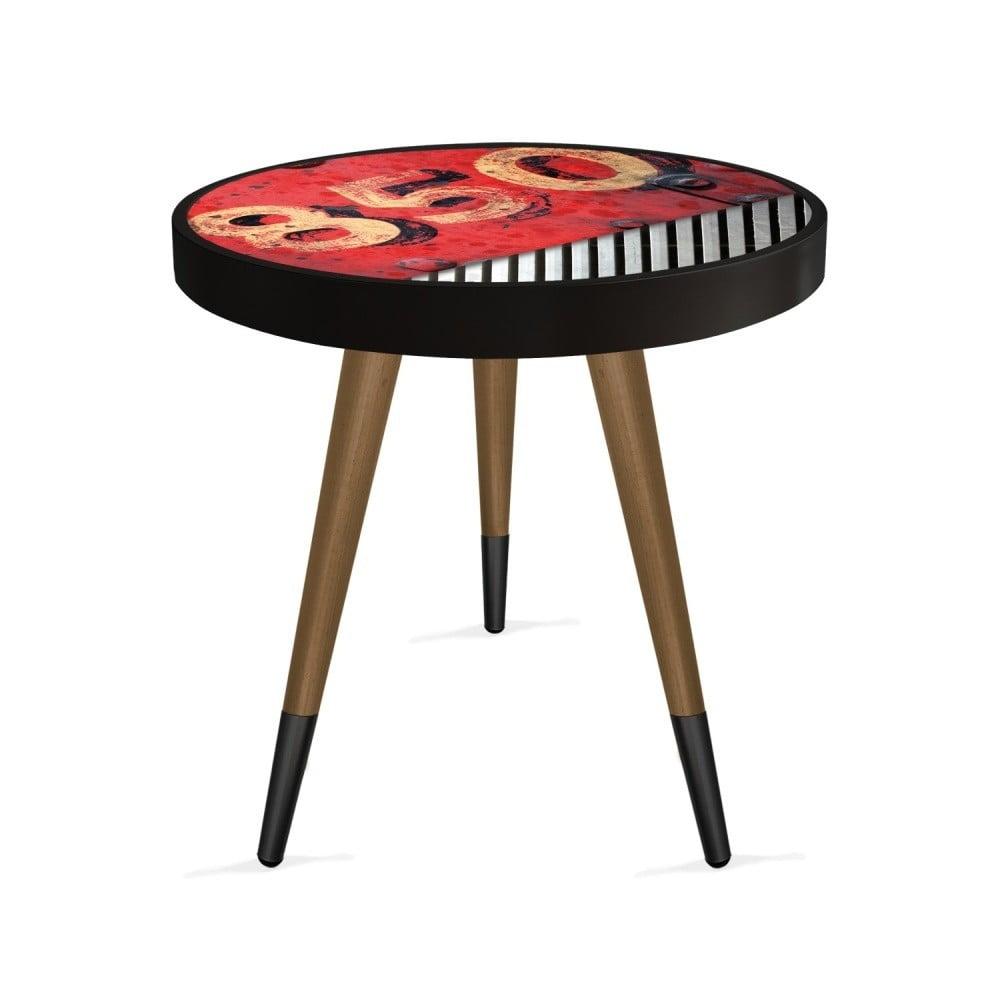 Príručný stolík Rassino Circle, ⌀ 45 cm