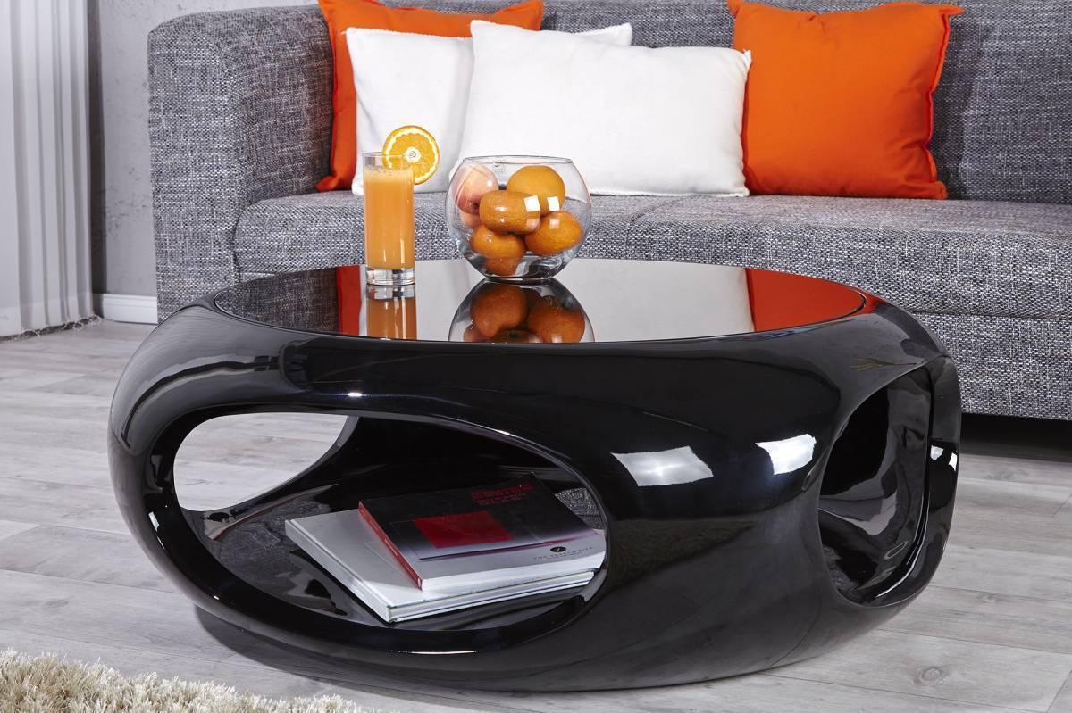 Konferenčný stolík SPAN II - čierna