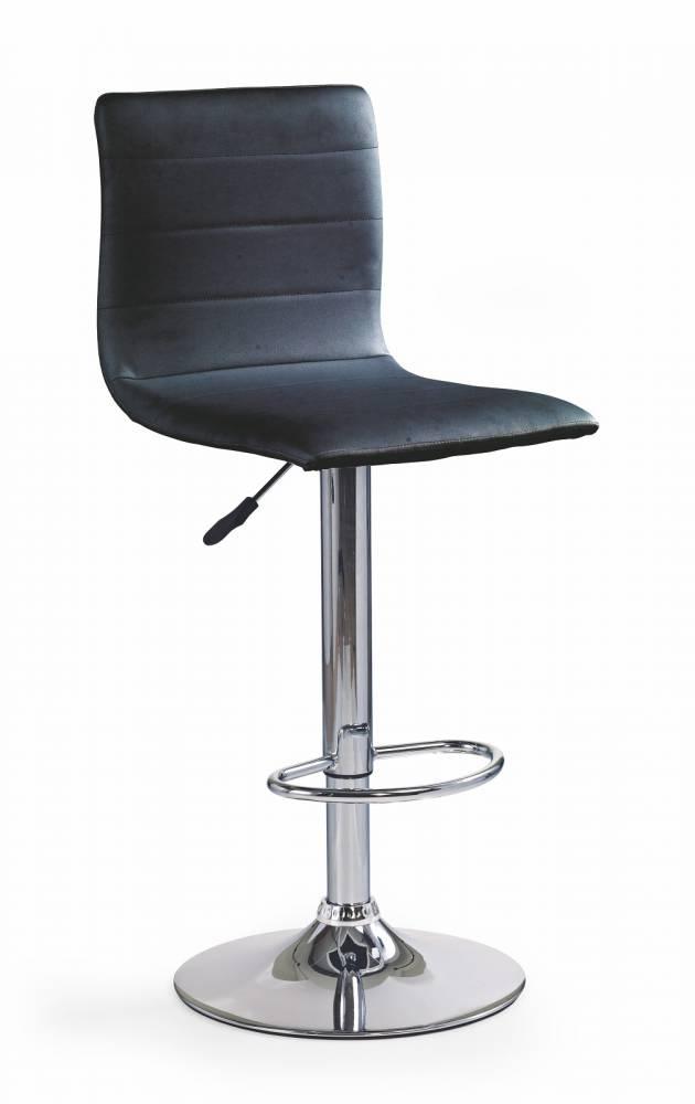 Barová stolička H-21 čierna