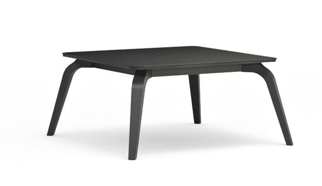 Konferenčný stolík Possi LAW/80   Farba: šedý wolfram