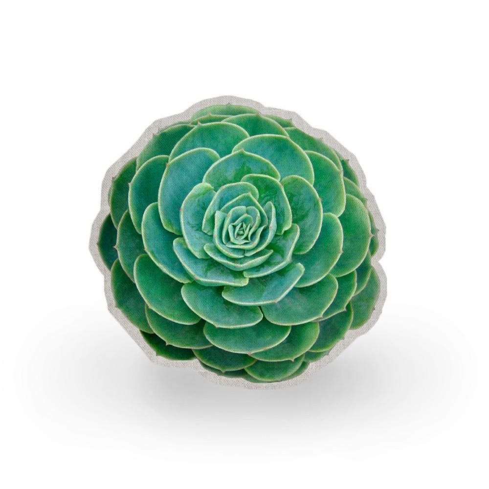 Vankúš Surdic Raso Suculenta Verde, ⌀ 45 cm