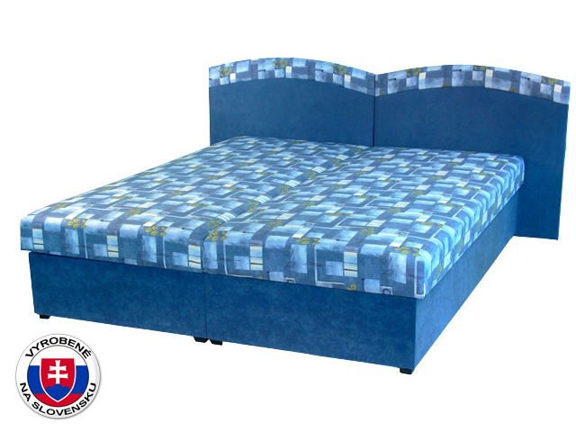 Manželská posteľ 160 cm Duo (s molitanovým matracom)