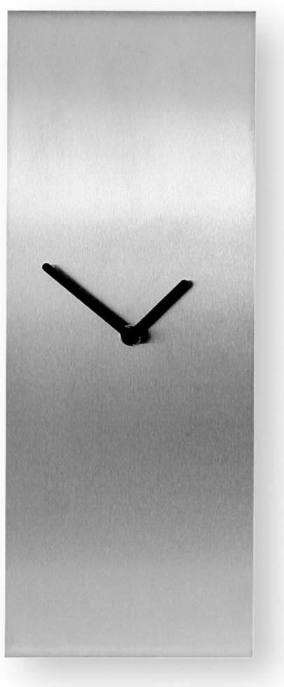 Nástenné hodiny BENT - strieborná