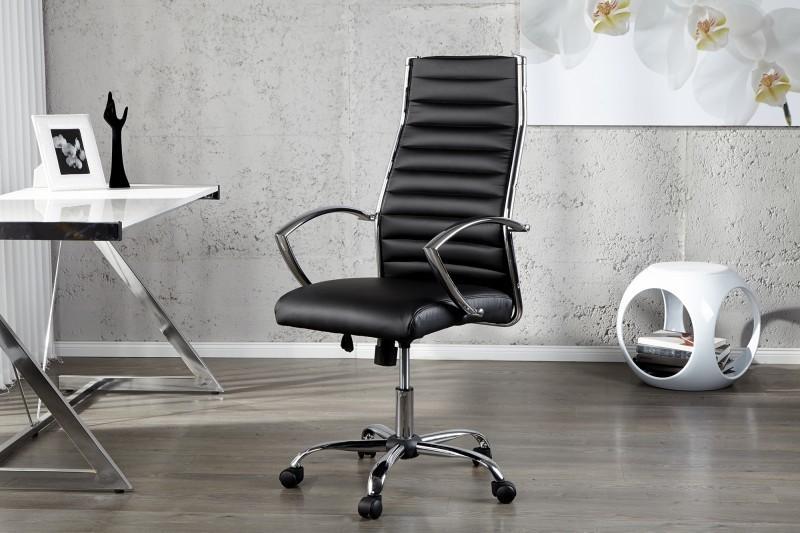 Kancelárska stolička DEALS - čierna