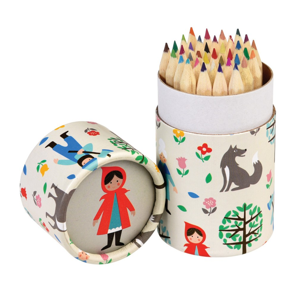 Sada 36 pasteliek Rex London Red riding Hood