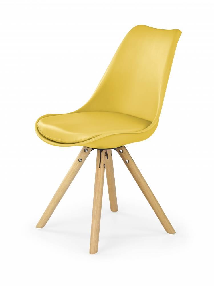 Jedálenská stolička K201 (žltá)
