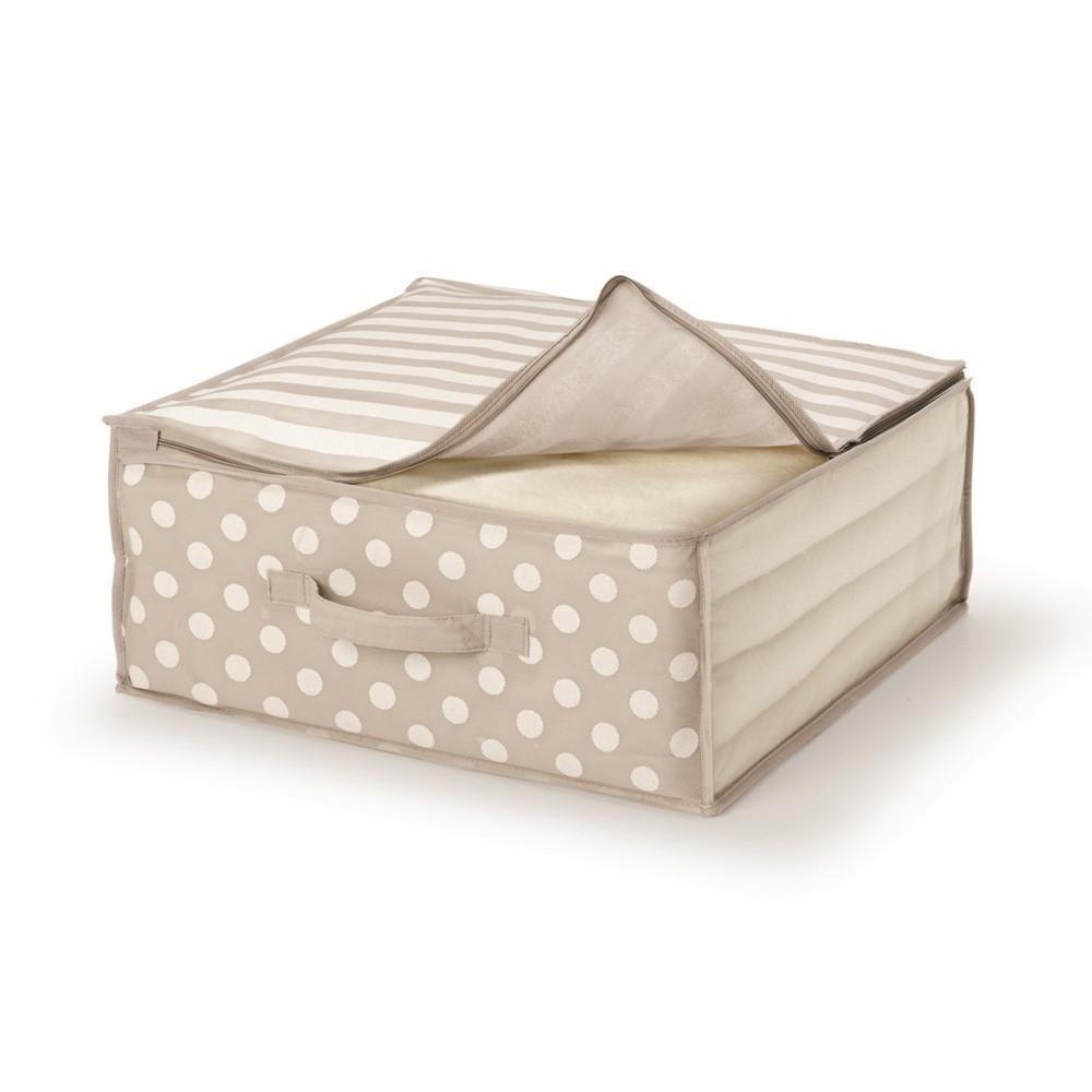 Hnedý uložný box na prikrývky Cosatto Trend, 45 x 45 cm