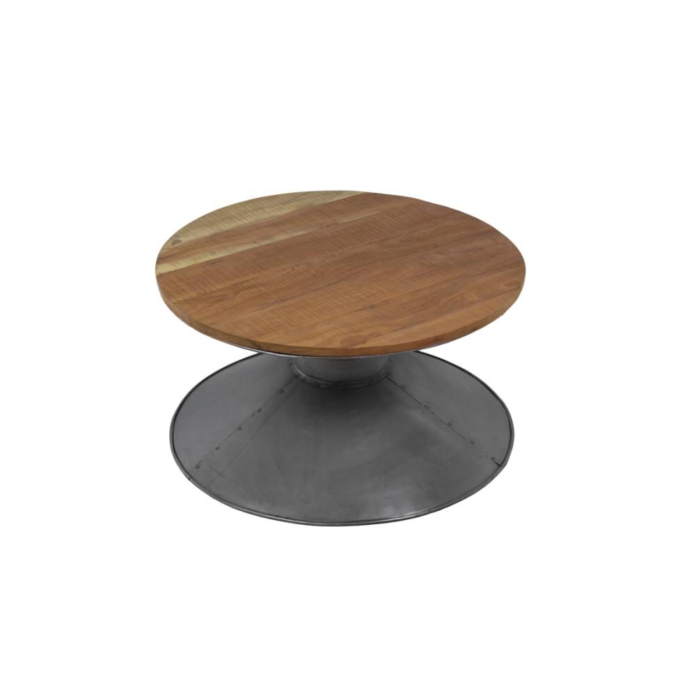 Konferenčný stolík z dreva a kovu HSM collection Pop