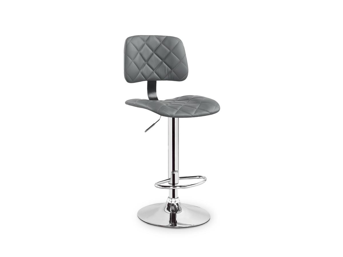 Barová stolička H-74 (sivá)