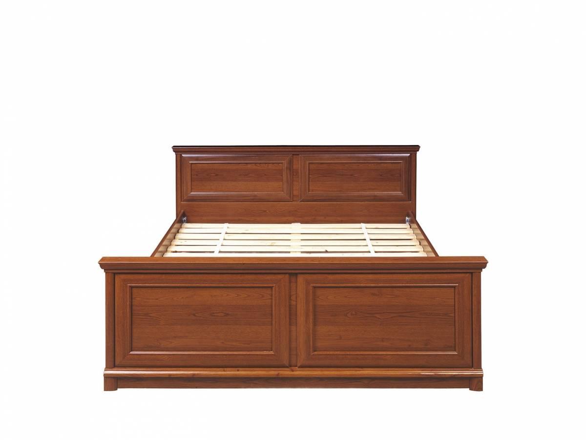 Manželská posteľ 160 cm KENT ELOZ 160 (Gaštan)