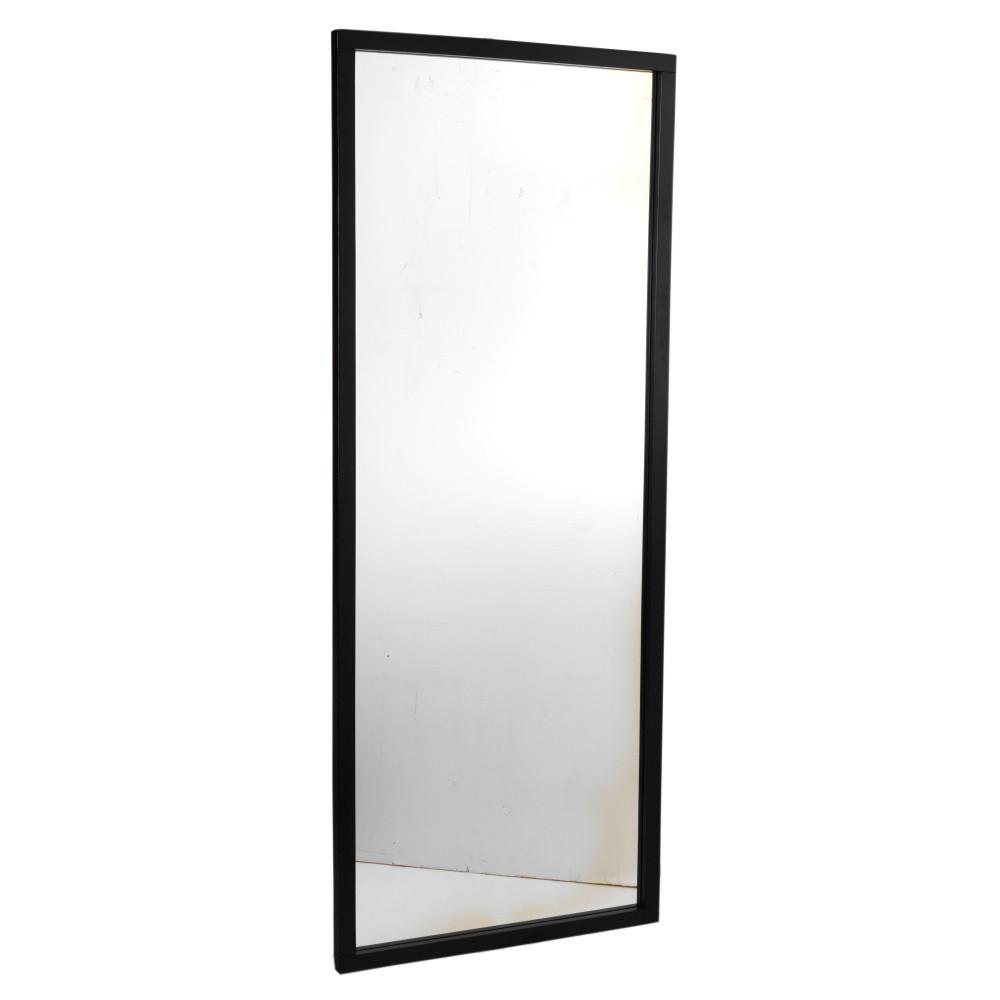 Čierne dubové zrkadlo Folke Gefjun