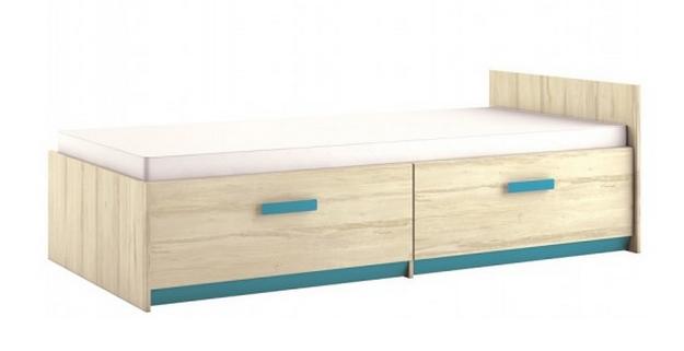 Detská posteľ BEST 17 / breza   Farba: breza / atlantic