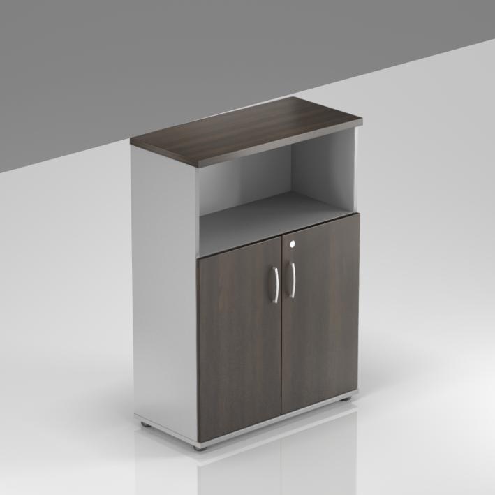 Rauman Kancelárska skriňa Visio, 80x38,5x113 cm, dvere 2/3 S382 07