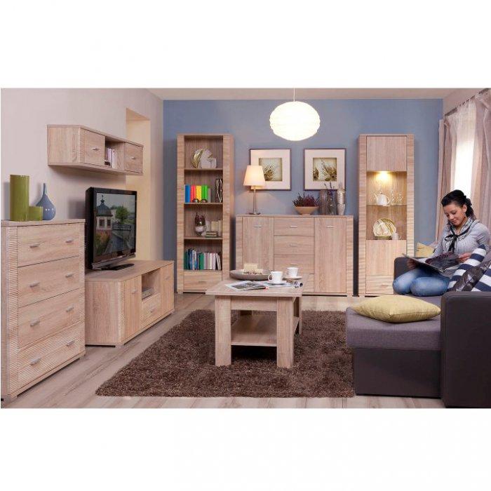TEMPO KONDELA GRAND obývacia izba - dub sonoma