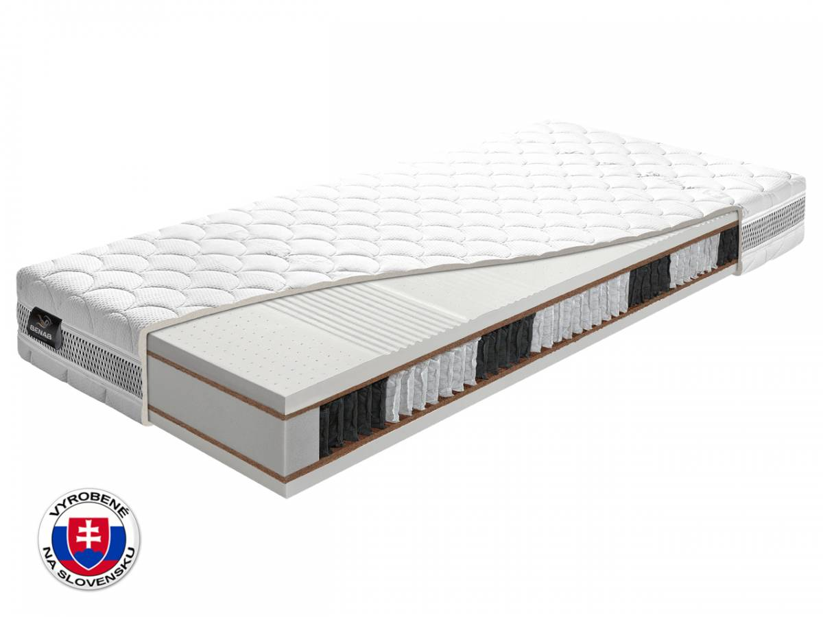 Taštičkový matrac Benab Latexo S1000 220x160 cm (T4/T3)