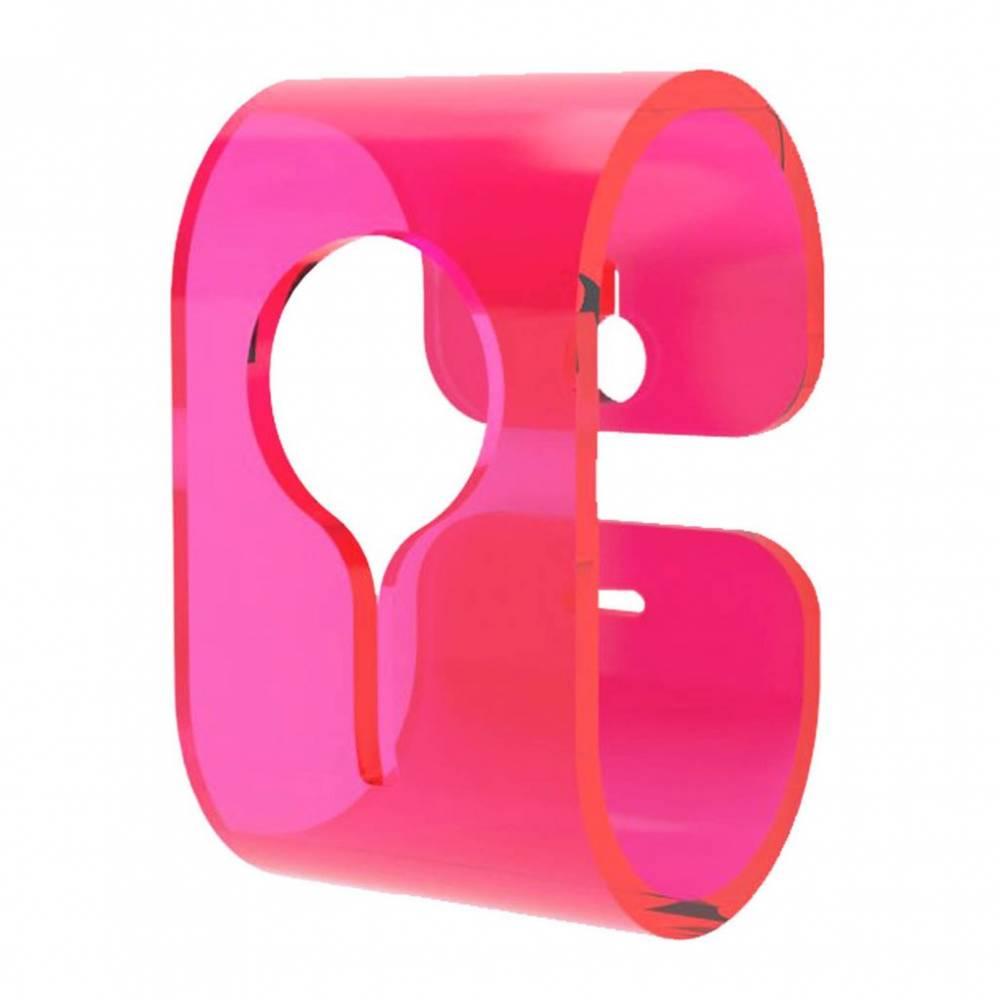 Neon Living Vešiak B-Hooked pre uterák alebo utierku, ružový