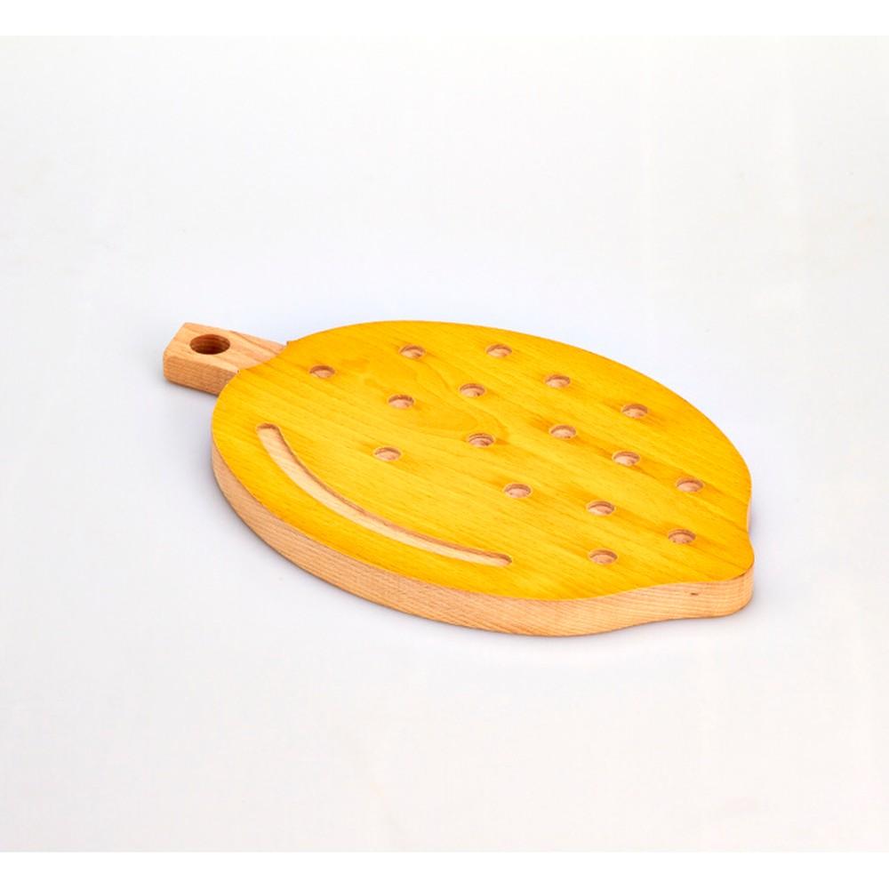 Buková doska na krájanie Bisetti Lemon