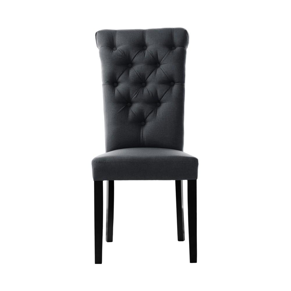 Antracitová stolička L'Officiel Taylor