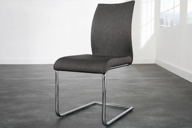 Jedálenská stolička SUAVE - antrazitová