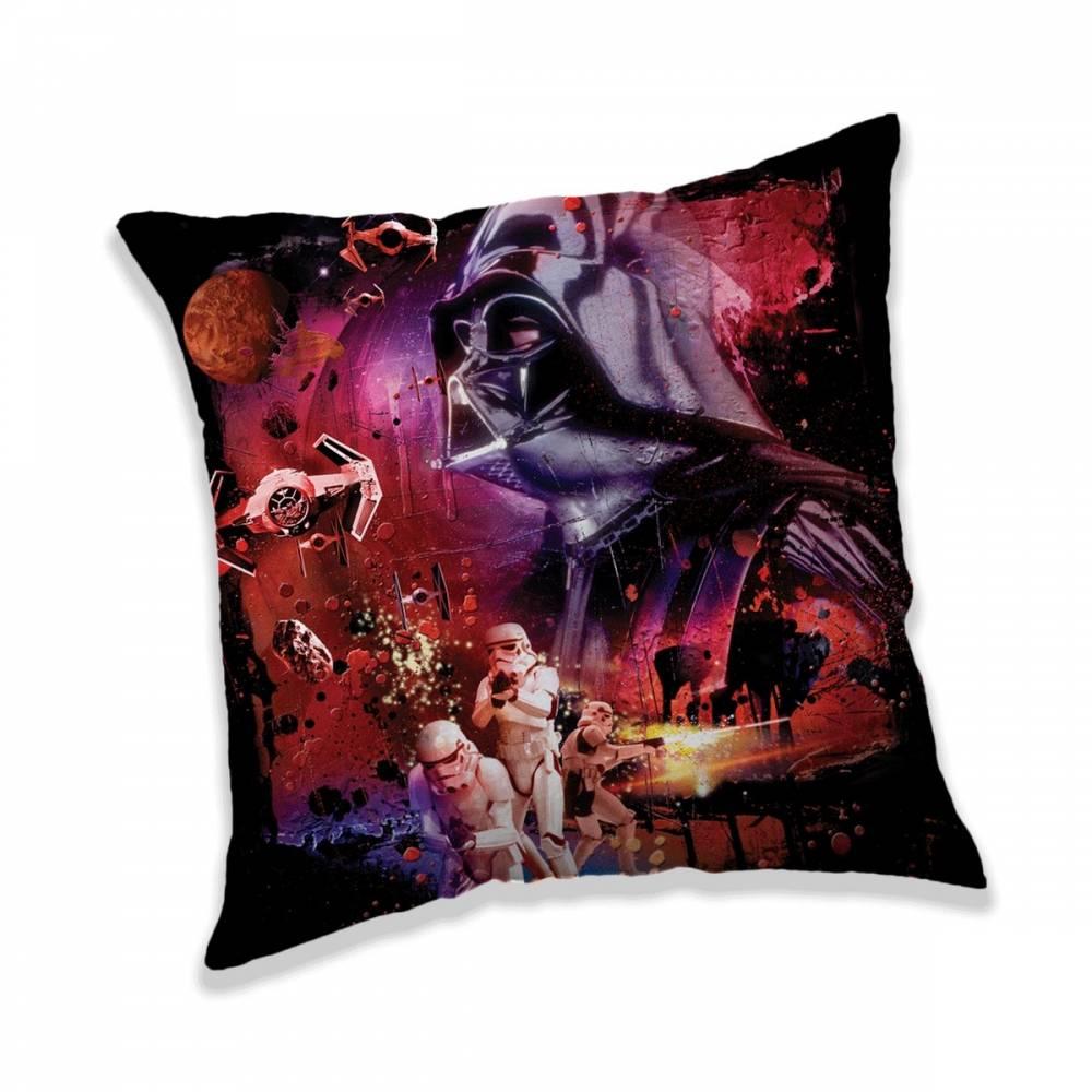 Jerry Fabrics Vankúšik Star Wars Dark Power, 40 x 40 cm
