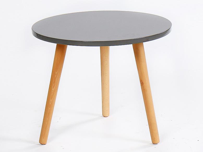 Konferenčný stolík Bazzy 3 (sivá)