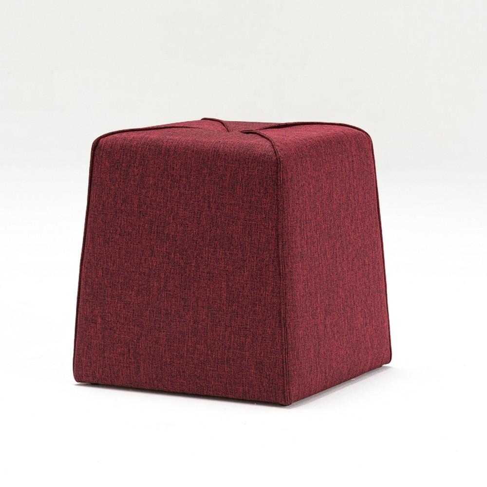 Vínovočervená podnožka Balcab Home Petra