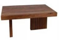 Furniture nábytok  Masívny konferenčný stolík  z Palisanderu  Bharat  140x80x40 cm