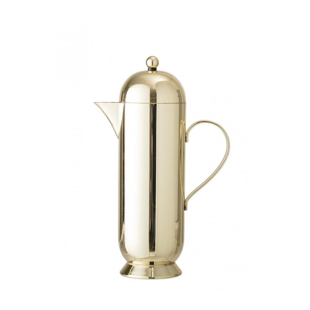 Kanvice na kávu v zlatej farbe Bloomingville Coffee Pot