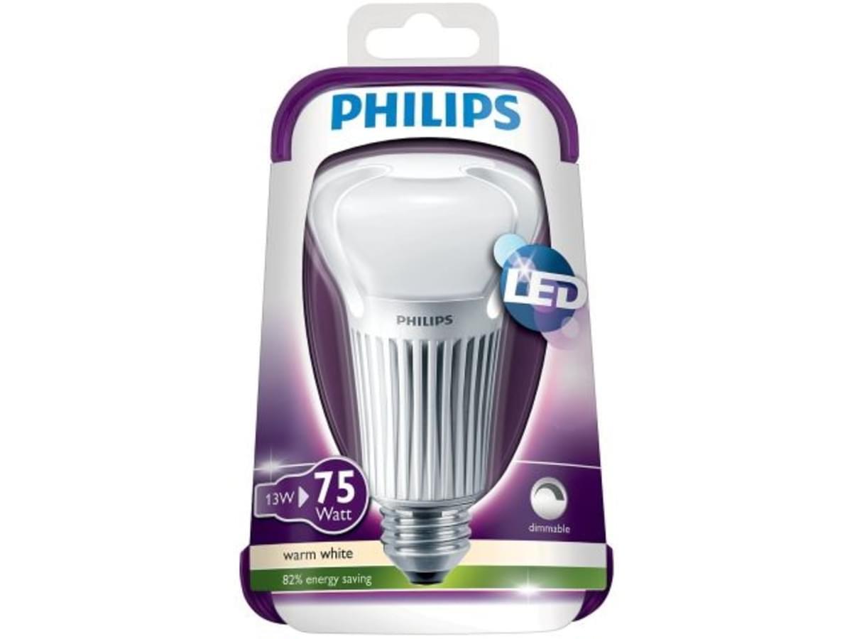 PHILIPS žiarovka LED E27 13W = 75W stmievateľná