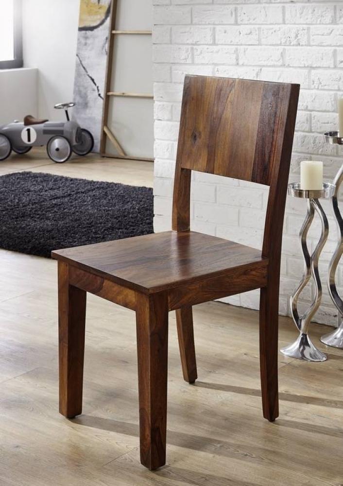 METRO LIFE #167 Sheesham stolička, masívne palisandrové drevo
