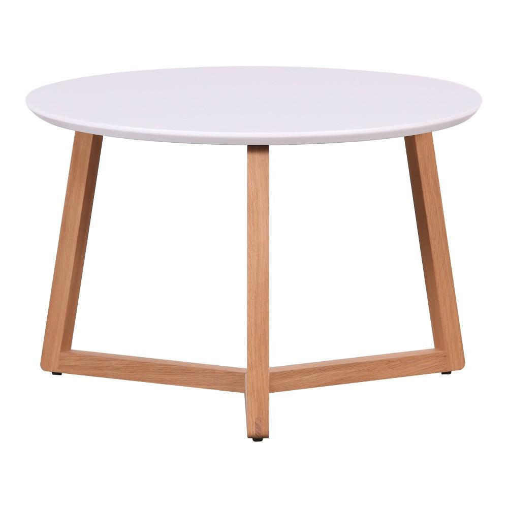 Konferenčný stolík s bielou doskou Artemob Marina, 33×50 cm